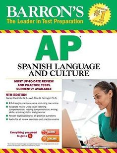 Barrons ap art history 3rd edition art history history and products barrons ap spanish language and culture with mp3 cd 9th edition fandeluxe Images