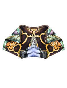Butterfly Effect: Alexander McQueen DeManta Clutch.
