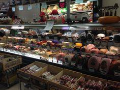 Deli meats at Altomonte's Italian Market.