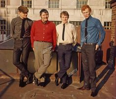 Dick Heckstall-Smith, Graham Bond, Jack Bruce, Ginger Baker; The Graham Bond Organisation