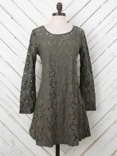 Altar'd State Blooming Branches Dress