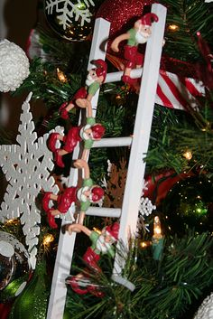 13 best christmas ladders images christmas crafts christmas rh pinterest com