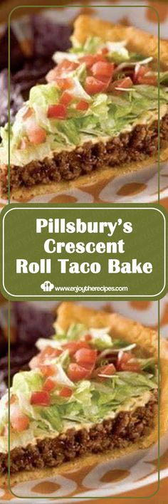 Pillsbury's Crescent Roll Taco Bake - Enjoy The Recipes food menu Pillsbury's Crescent Roll Taco Bake Crescent Roll Taco Bake, Crescent Roll Recipes, Crescent Rolls, Kraft Foods, Kraft Recipes, Mexican Dishes, Mexican Food Recipes, Beef Recipes, Mexican Side Dishes