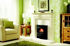 Ecoburn Inset multi fuel stove - The inset version of the ever-popular Ecoburn stove has been designed to provide a handy solution for converting an open fireplace into a high performance fireplace.