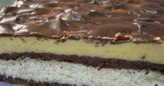 Vynikající koko-čoko koláč bez pečení: Chutná jako kokoska s čokoládou a milují ho i ti nejmenší!