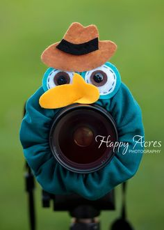Lens Bling - Perry the Platypus