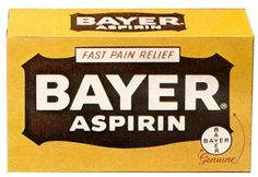 In 1897, Felix Hoffmann, while working as a chemist at German Company BayerAG, had discovered a pain-relieving, fever-lowering and anti-inflammatory substance. In 1899 it was marketed for the first time under the trade name Aspirin, initially as a powder supplied in glass bottles.