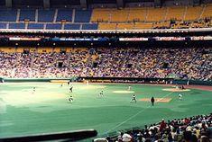 Expos de Montréal — Wikipédia Montreal Ville, Soccer, City, Sports, History Of The World, Sleeves, Hs Sports, Football, European Football