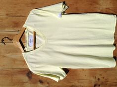Yellow Iris. 100% Supima Cotton. Made in America. $25.00.