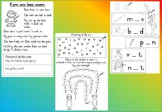 Teaching Resources for South African Teachers 1st Grade Worksheets, Worksheets For Kids, Preschool Education, Preschool Activities, 2nd Grade Spelling Words, Afrikaans Language, Handwriting Practice Sheets, Alphabet For Kids, Math Numbers