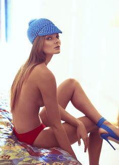Eniko Mihalik by Koray Birand for Vogue Mexico, March 2014