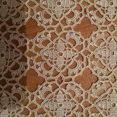 Love Crochet, Crochet Motif, Crochet Doilies, Crochet Patterns, Crochet Tablecloth, Diy And Crafts, Projects, Rugs, Crochet Diagram