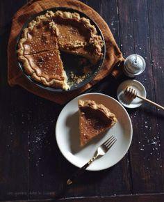 Salted Honey Pie