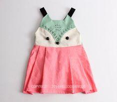 Girl's dress/ Kid's sewing pattern pdf/Toddler/ suspender skirt / jumper skirt…