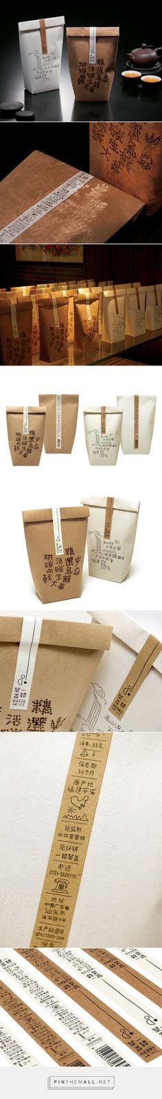 Chinese packaging design - A wisp of tea – CreativeRoots - created via https://pinthemall.net