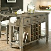 Found it at Wayfair - Brownstone Village Kitchen Island.  Not sure the colors are good, but I love the wine rack