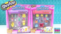 Shopkins Happy Places Puppy Parlor Bathing Bunny Shoppies Review Opening...