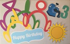 Throwing a Teletubbies themed birthday party? We have just the thing to really make your party special!   This package includes eight different items, all made by hand out of high-quality cardstock, secured with a wooden dowel for holding. Includes: *1 of each of the teletubbies head piece. Total of 4. *1 Sun *1 Noo Noo vacuum character *1 Number of your choice (please notify us in the notes section of your order what number you would like) *1 Happy Birthday Sign Each wooden dowel stands at… Happy Birthday Signs, 2nd Birthday Parties, Birthday Ideas, Photo Booth Props, First Birthdays, Party Time, Card Stock, Head Piece, Invitations