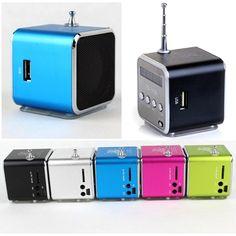 Mini haut-parleur mp3 lecteur de musique Radio FM stéréo 1PC for 19,99 CA$ #onselz