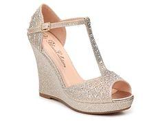 DeBlossom Alina-7 Wedge Sandal