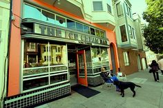 PLACES: The Ice Cream Bar, San Francisco USA.