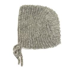Tocoto Grey Knitted Cap