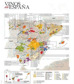 Denominaciones de origen de España.