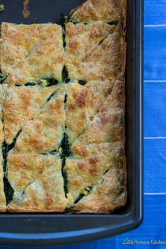 Spinach and Feta Borek (Turkish Spinach Pie)
