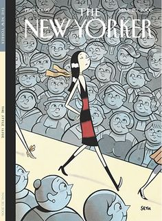 The New Yorker, 2nd place for best fashion cover 2006, The Skinny on Fashion by Seth.