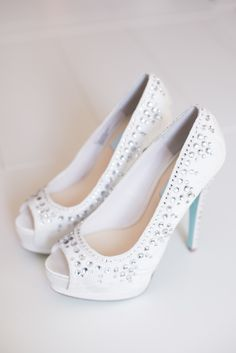 blinged out shoes