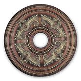 Found it at Wayfair - Ceiling Medallion in Palacial Bronze with Gilded Accents