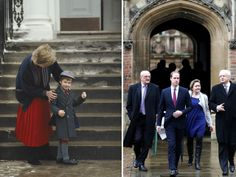 Prince William's first day of school at Cambridge