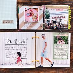 Weekends are the perfect time for scrapbooking! Thanks for sharing, @mandimakes! #messybox