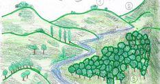 La collina CIMA > La parte più alta della collina. VERSANTE > Ciascun fianco della collina. PIEDE > Base della col... Geography