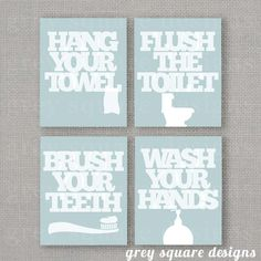 Love this; a stylish way to remind children of their responsibilities without looking tacky...