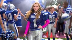Bella from Bella and the Bulldogs on Nickelodeon! She shows the boys on the football team that girls CAN play football!