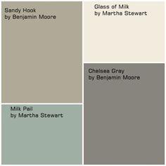 martha stewart paint milk pail | Glidden DUO 8-oz. #MSL087 Martha Stewart Living Sea Anemone…