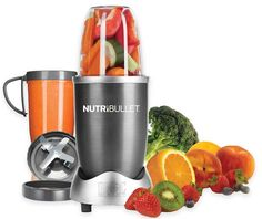 Magic Bullet NutriBullet High-Speed Blender/Mixer System From Nutri Bullet. - Bought another blender which we ended returning and then purchasing this one. I absolutely recommend the Nutri Bullet. So easy to use and the. Magic Bullet, Nutribullet 600, Nutribullet Recipes, Blender Recipes, Smoothie Recipes, Juice Recipes, Shake Recipes, Small Appliances, Kitchen Appliances