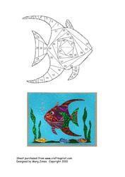 View Angel Fish Iris Folding Pattern Details