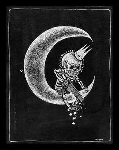 ~ Moon king skull ~