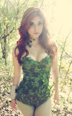 Poison Ivy cosplay- I like this one. It's beautifully done without being over-sexualized.