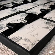 I like the idea of using a quote or lyric on the front of my boxed invites