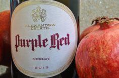 Purple Red Merlot 2013