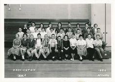 1960 Seventh Grade at Washington Jr High