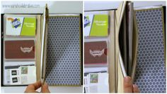Way Cool Wallet - Original Midori Travelers Notebook As A Wallet zipper pocket | Sarah Celebrates