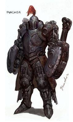 Armadura de Ferro, Engenharia de Rasgath