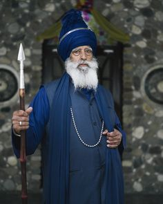 markhartmanphoto:  My portrait of beyond amazing human, Baba... #sikhblog #feedly