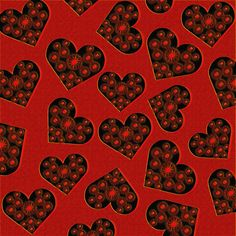 'Burning Hearts' by imagology Heart Patterns, Alexander Mcqueen Scarf, Hearts, Wall Papers, Paper
