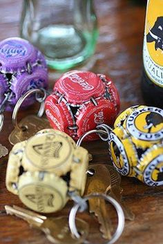 Decoration from A to Z: Bottle Caps or Chapinha Metal ideas ....