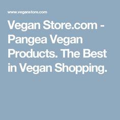 Vegan Store.com - Pangea Vegan Products. The Best in Vegan Shopping.
